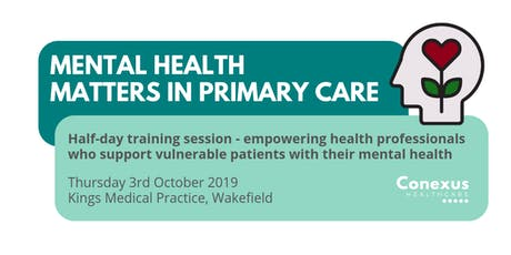 Mental Health Matters in Primary Care tickets
