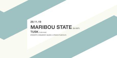 Maribou State (DJ set) • The Brickworks • Nottingham tickets