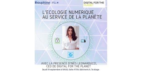 L'écologie numérique au service de la planète billets