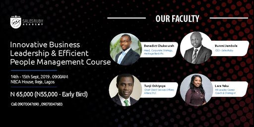 Innovative Business and Efficient People Management