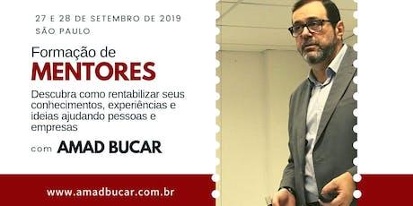 Formação de Mentores - 27 e 28 de Setembro em São Paulo ingressos
