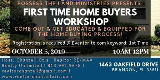 1st Time Home Buyers Workshop