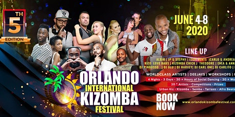 Orlando International Kizomba Festival 2021 tickets