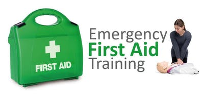 £45pp Level 3 Award : Emergency First Aid at Work - 1 Day Course.