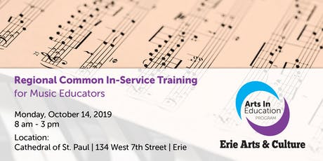 Regional Common In-Service Training for Music Educators tickets