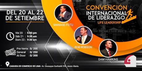 Convención internacional de Liderazgo-- Lima entradas