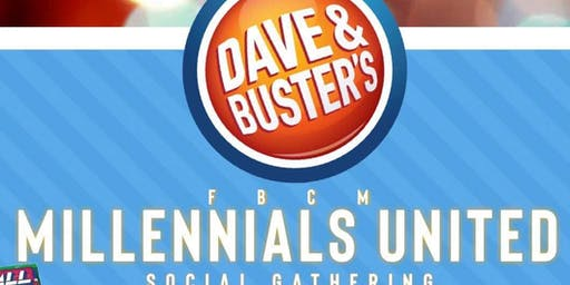 Millennials United Takes Over Dave and Buster's