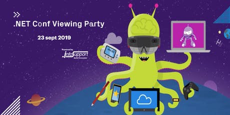 .NET Conf 2019 Viewing Party tickets