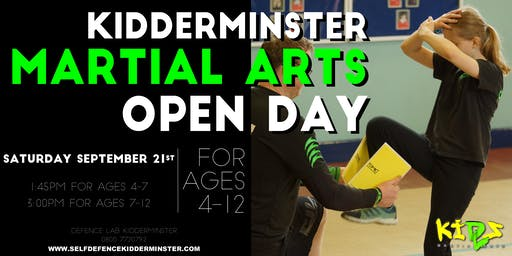 FREE Children's Martial Arts Open Day