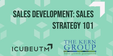 Sales Development: Sales Strategy 101 tickets