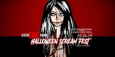 SAKE Presents... Kuchi SAKE Onna - Halloween Screa tickets
