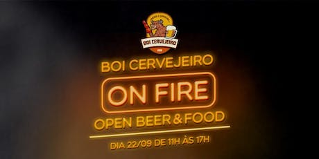 BOI CERVEJEIRO ON FIRE ingressos