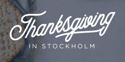 Thanksgiving in Stockholm