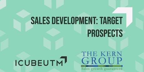 Sales Development: Target Prospects tickets