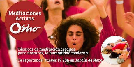 Meditaciones Activas OSHO - En Barcelona entradas
