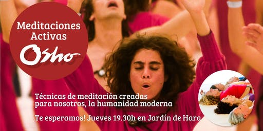 Meditaciones Activas OSHO - En Barcelona