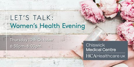 Let's Talk: Women's Health Evening tickets