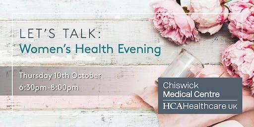 Let's Talk: Women's Health Evening