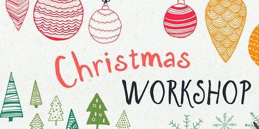 Christmas Table Centerpiece Workshop
