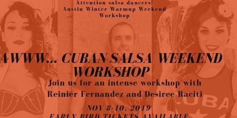 AWWW Cuban Salsa Workshop with Reinier Fernandez & Desiree Raciti