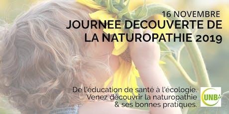 Journée découverte de la Naturopathie 2019 tickets