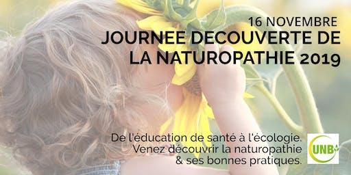 Journée découverte de la Naturopathie 2019