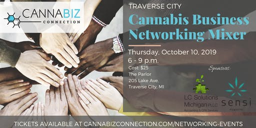 Traverse City Cannabiz Connection Networking Mixer
