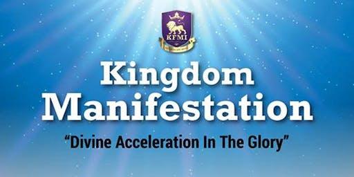 KFMI Conference - Kingdom Manifestation (17th - 20th October 2019)