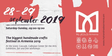 My Handmade Armenia Crafts Festival 2019 tickets