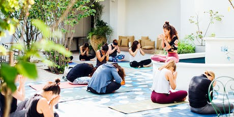 Yoga with Nai and brunch in Suraya's Garden tickets