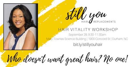 Hair Vitality Workshop tickets