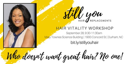 Hair Vitality Workshop