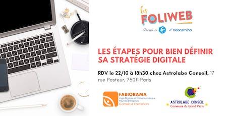 [Paris] Les étapes pour bien définir sa stratégie digitale billets