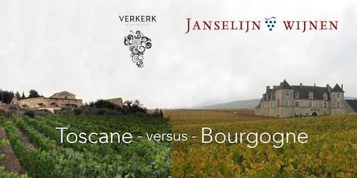 Wijnproeverij Toscane versus Bourgogne deel 3