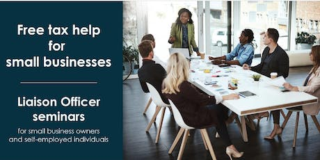 Info Session: Introduction to Small Business Taxation tickets