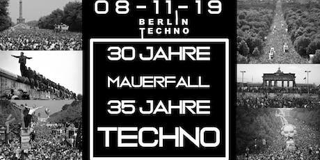 30 Jahre Mauerfall I 35 Jahre Techno I 12 Acts I 2 Floors  Tickets