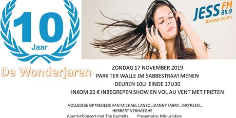 De Wonderjaren LIVE tickets