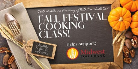Fall Harvest Cooking Class tickets
