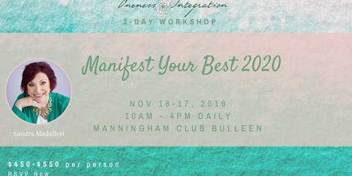Manifest your Best ™️ 2020