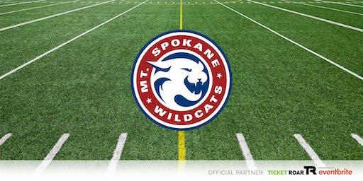 Mt Spokane vs Rogers Varsity Football