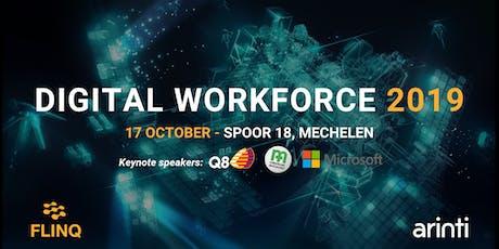 Digital Workforce 2019: RPA + AI tickets