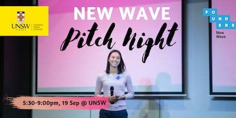 New Wave Pitch Night tickets