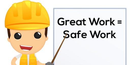 OSHA 30 Hour Class Construction  9/28/19 - 10/1/19 (4 days) 7AM - 3:30PM