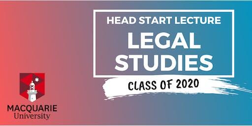 Legal Studies - Head Start Lecture (Macquarie)