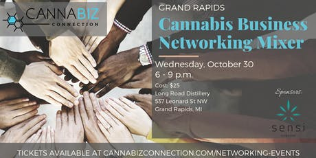 Grand Rapids Cannabiz Connection Networking Mixer tickets