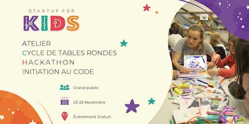 Startup For Kids - 23, 24 et 25 Novembre 2019
