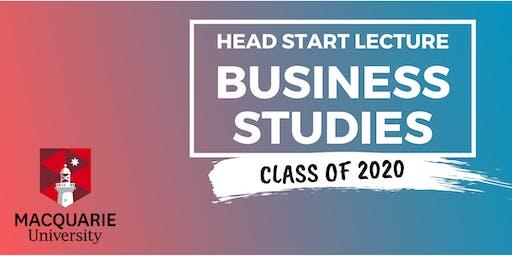 Business Studies - Head Start Lecture (Macquarie)
