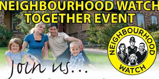Neighbourhood Watch Together Event, Malvern Hills and Wychavon