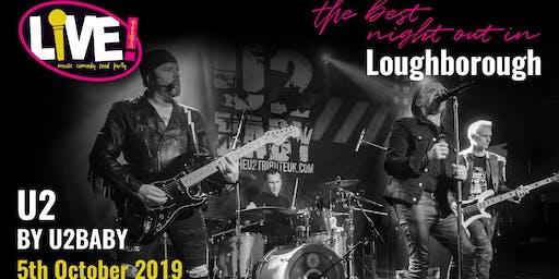 U2 Live Band Saturday (with U2Baby) -  Saturday 5th October 2019