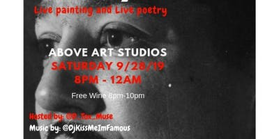 Painted Poetry (Live Painting and Spoken Word)